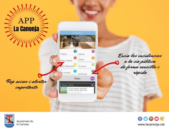 L'Ajuntament posa en marxa una aplicació mòbil per comunicar incidències a la via pública