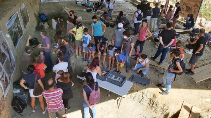 El Barranc de la Boella assoleix 15 anys d'excavacions consecutives